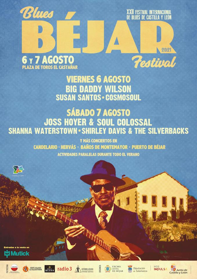cartel blues béjar festival 2021